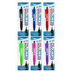 Single Pack Extra Large -XL Jumbo Ball Point Pen w/ Rubber Grip - Assorted Colors