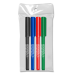 Note Writers® - Fine Point Fiber Point Pens - USA Made - 4 ct