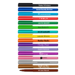 Note Writers® - Fine Point Fiber Point Pens - USA Made