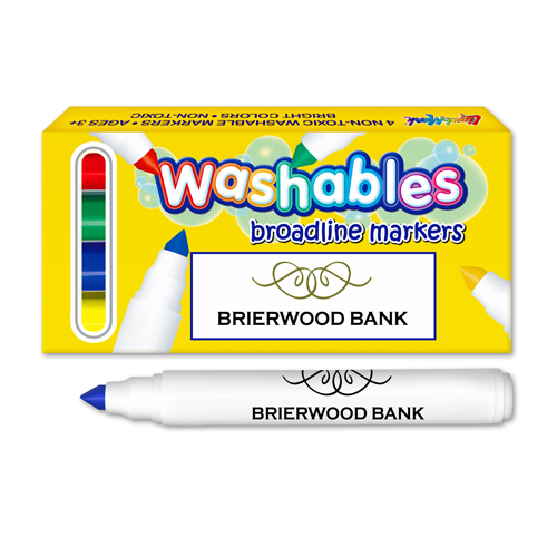 *Washable Marker Box - USA Made - 4 ct