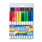 Set of 20 Washable Super Tip Markers - Assorted Colors