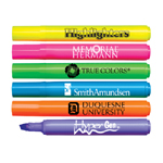 Brite Spots® Broad Tip Highlighters - Solid Barrel - USA Made