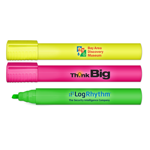 "Extra Large - XL Jumbo 8"" Highlighter - Full Color Decal"