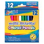 "Set of Mini Colored Pencils 3.5"" Pre-Sharpened"