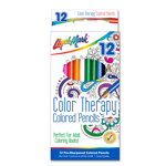 "Set of 12 Color Therapy® Colored Pencils 7"" Pre-Sharpened"