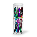 iWriter® Twist - Stylus & Pen Combo- 6 Pack Tube Set With Full Color Decal