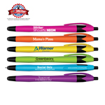 iWriter® Silhouette Neon - Stylus & Retractable Ball Point Pen