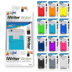 iWriter® Wallet - Silicone Card Holder for Mobile Devices